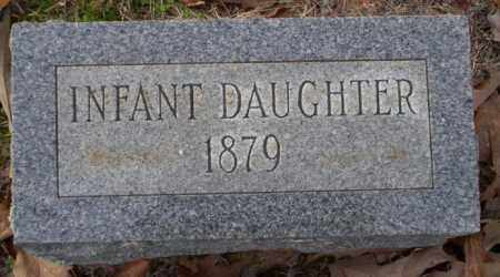 UNKNOWN, INFANT DAUGHTER - Columbia County, Arkansas | INFANT DAUGHTER UNKNOWN - Arkansas Gravestone Photos