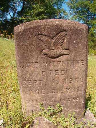 VALENTINE, JANE - Columbia County, Arkansas | JANE VALENTINE - Arkansas Gravestone Photos