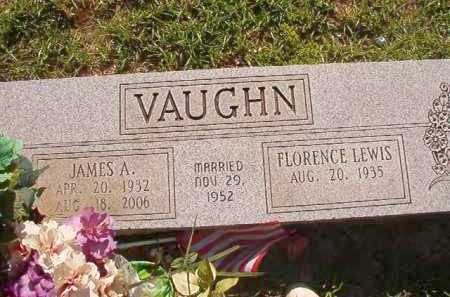 VAUGHN, JAMES A - Columbia County, Arkansas | JAMES A VAUGHN - Arkansas Gravestone Photos