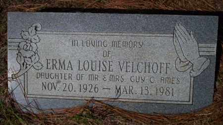 VELCHOFF, ERMA LOUISE - Columbia County, Arkansas | ERMA LOUISE VELCHOFF - Arkansas Gravestone Photos