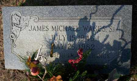WAGES SR., JAMES MICHAEL - Columbia County, Arkansas | JAMES MICHAEL WAGES SR. - Arkansas Gravestone Photos