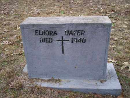 WAFER, ELNORA - Columbia County, Arkansas | ELNORA WAFER - Arkansas Gravestone Photos
