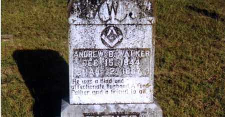 WALKER, ANDREW BOYD - Columbia County, Arkansas | ANDREW BOYD WALKER - Arkansas Gravestone Photos