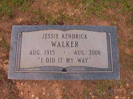 WALKER, JESSIE - Columbia County, Arkansas | JESSIE WALKER - Arkansas Gravestone Photos