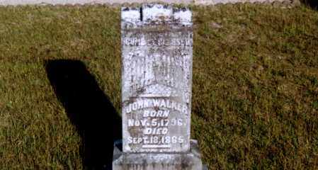 WALKER, JOHN - Columbia County, Arkansas | JOHN WALKER - Arkansas Gravestone Photos