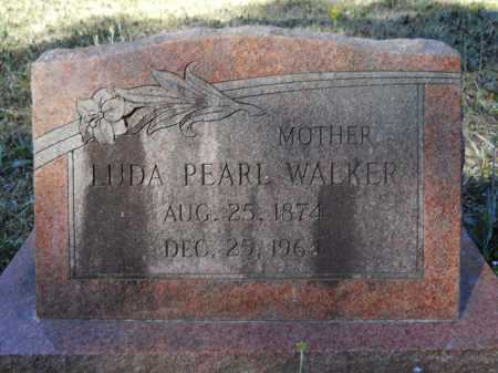 WALKER, LUDA PEARL - Columbia County, Arkansas | LUDA PEARL WALKER - Arkansas Gravestone Photos