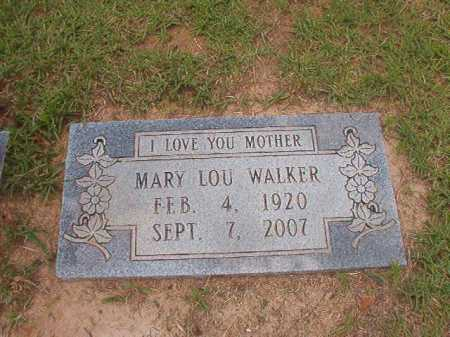 WALKER, MARY LOU - Columbia County, Arkansas | MARY LOU WALKER - Arkansas Gravestone Photos