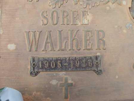 WALKER, SOREE - Columbia County, Arkansas | SOREE WALKER - Arkansas Gravestone Photos