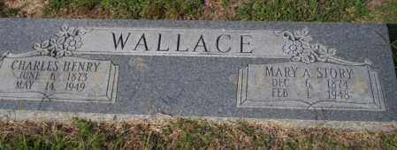 STORY WALLACE, MARY A - Columbia County, Arkansas | MARY A STORY WALLACE - Arkansas Gravestone Photos