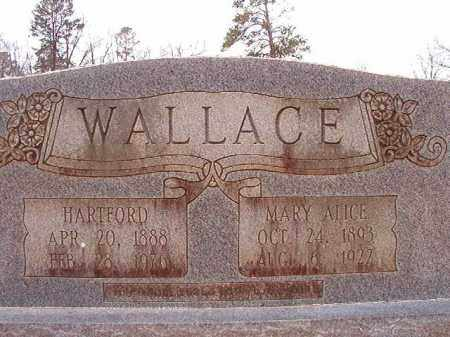 WALLACE, MARY ALICE - Columbia County, Arkansas | MARY ALICE WALLACE - Arkansas Gravestone Photos
