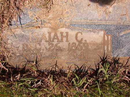 WALLACE, ISAIAH C - Columbia County, Arkansas | ISAIAH C WALLACE - Arkansas Gravestone Photos