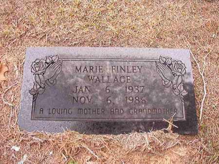 FINLEY WALLACE, MARIE - Columbia County, Arkansas | MARIE FINLEY WALLACE - Arkansas Gravestone Photos