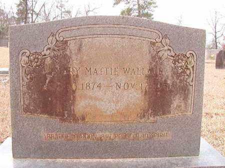 WALLACE, MARY MATTIE - Columbia County, Arkansas | MARY MATTIE WALLACE - Arkansas Gravestone Photos