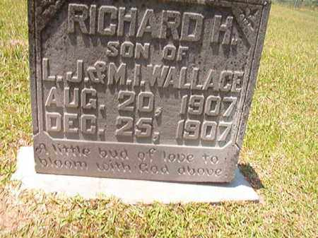WALLACE, RICHARD H - Columbia County, Arkansas | RICHARD H WALLACE - Arkansas Gravestone Photos
