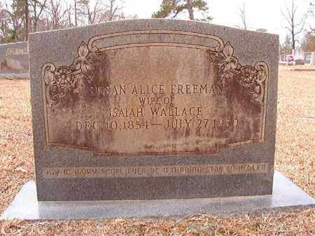 WALLACE, SUSAN ALICE - Columbia County, Arkansas | SUSAN ALICE WALLACE - Arkansas Gravestone Photos