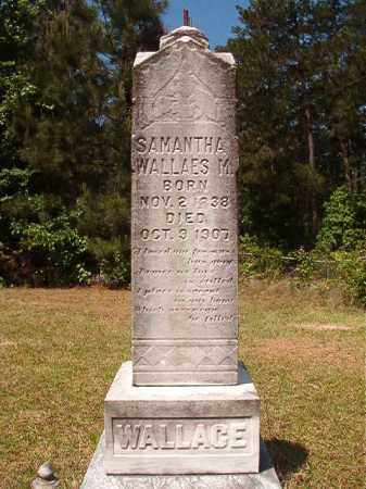 WALLACE, SAMANTHA M - Columbia County, Arkansas | SAMANTHA M WALLACE - Arkansas Gravestone Photos