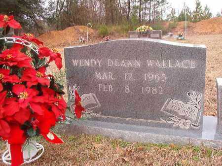 WALLACE, WENDY DEANN - Columbia County, Arkansas | WENDY DEANN WALLACE - Arkansas Gravestone Photos
