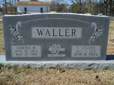 WALLER, N WILLENE - Columbia County, Arkansas | N WILLENE WALLER - Arkansas Gravestone Photos