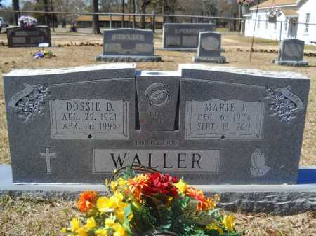 WALLER, DOSSIE D - Columbia County, Arkansas | DOSSIE D WALLER - Arkansas Gravestone Photos