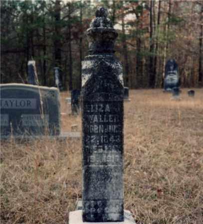 GILMER WALLER, ELIZA J. - Columbia County, Arkansas | ELIZA J. GILMER WALLER - Arkansas Gravestone Photos