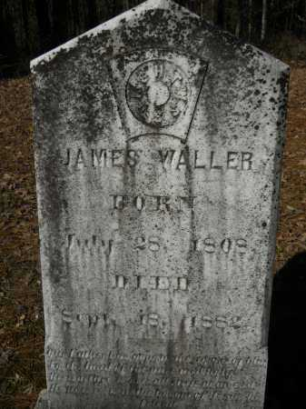 WALLER, JAMES MONROE - Columbia County, Arkansas | JAMES MONROE WALLER - Arkansas Gravestone Photos