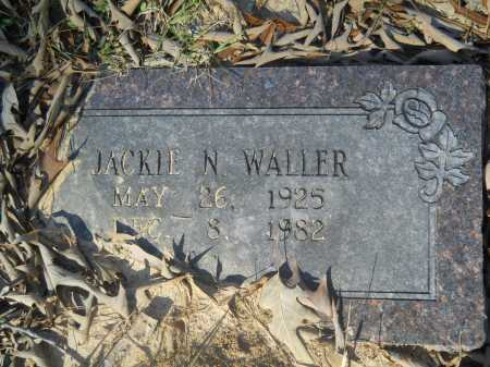 WALLER, JACKIE N - Columbia County, Arkansas | JACKIE N WALLER - Arkansas Gravestone Photos
