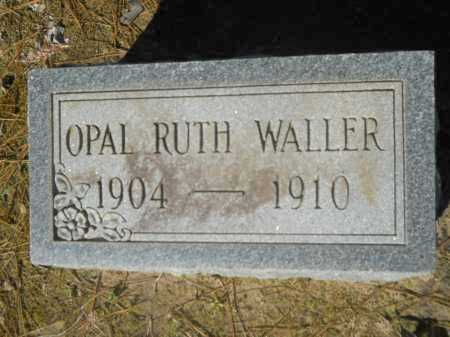 WALLER, OPAL RUTH - Columbia County, Arkansas | OPAL RUTH WALLER - Arkansas Gravestone Photos