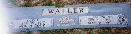 WALLER, LILLIAN - Columbia County, Arkansas | LILLIAN WALLER - Arkansas Gravestone Photos