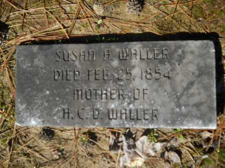 WALLER, SUSAN A - Columbia County, Arkansas | SUSAN A WALLER - Arkansas Gravestone Photos