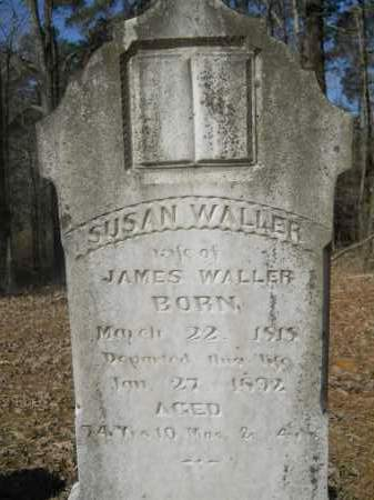 WALLER, SUSAN - Columbia County, Arkansas | SUSAN WALLER - Arkansas Gravestone Photos