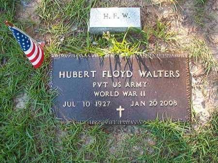 WALTERS (VETERAN WWII), HUBERT FLOYD - Columbia County, Arkansas | HUBERT FLOYD WALTERS (VETERAN WWII) - Arkansas Gravestone Photos