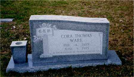 THOMAS WARE, CORA - Columbia County, Arkansas | CORA THOMAS WARE - Arkansas Gravestone Photos