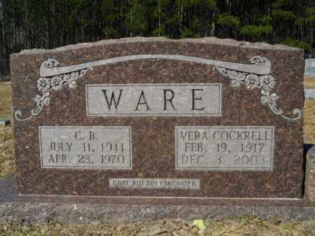 COCKRELL WARE, VERA - Columbia County, Arkansas | VERA COCKRELL WARE - Arkansas Gravestone Photos