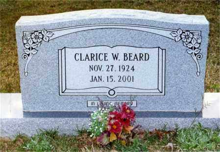 WARE BEARD, CLARICE - Columbia County, Arkansas | CLARICE WARE BEARD - Arkansas Gravestone Photos