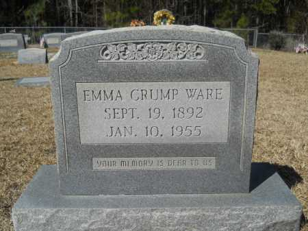 CRUMP WARE, EMMA - Columbia County, Arkansas | EMMA CRUMP WARE - Arkansas Gravestone Photos