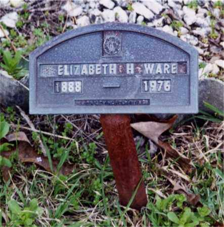 RASBERRY WARE, ELIZABETH HUGHES - Columbia County, Arkansas | ELIZABETH HUGHES RASBERRY WARE - Arkansas Gravestone Photos