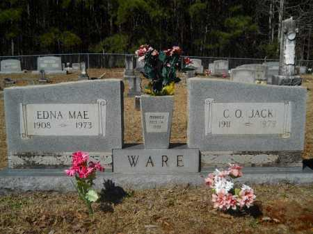 WARE, EDNA MAE - Columbia County, Arkansas | EDNA MAE WARE - Arkansas Gravestone Photos