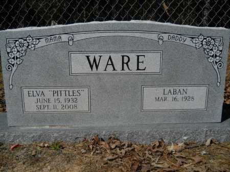 "WARE, ELVA ""PITTLES"" - Columbia County, Arkansas 