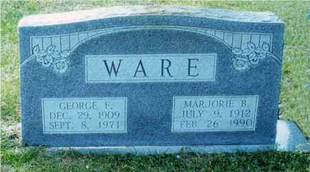 BURDINE WARE, MARJORIE - Columbia County, Arkansas | MARJORIE BURDINE WARE - Arkansas Gravestone Photos