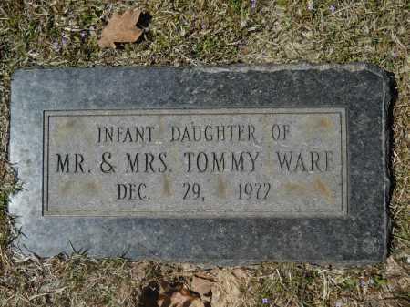 WARE, INFANT - Columbia County, Arkansas | INFANT WARE - Arkansas Gravestone Photos