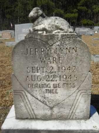 WARE, JERRY LYNN - Columbia County, Arkansas | JERRY LYNN WARE - Arkansas Gravestone Photos