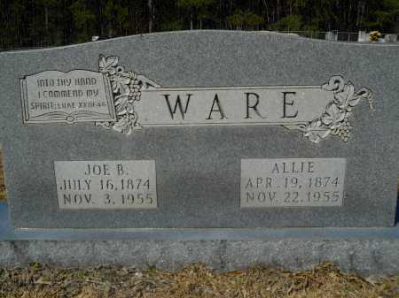 WARE, JOE B - Columbia County, Arkansas | JOE B WARE - Arkansas Gravestone Photos