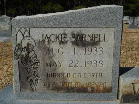 WARE, JACKIE BARNELL - Columbia County, Arkansas | JACKIE BARNELL WARE - Arkansas Gravestone Photos