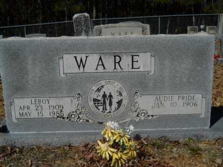 WARE, AUDIE - Columbia County, Arkansas | AUDIE WARE - Arkansas Gravestone Photos