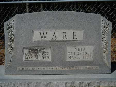 WARE, NETA - Columbia County, Arkansas | NETA WARE - Arkansas Gravestone Photos