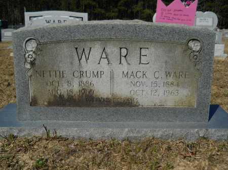 WARE, MACK C - Columbia County, Arkansas | MACK C WARE - Arkansas Gravestone Photos