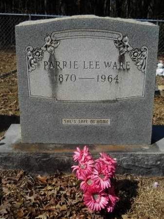 WARE, PARRIE LEE - Columbia County, Arkansas | PARRIE LEE WARE - Arkansas Gravestone Photos