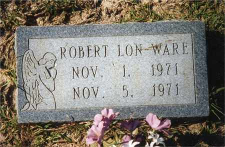 WARE, ROBERT LON - Columbia County, Arkansas | ROBERT LON WARE - Arkansas Gravestone Photos
