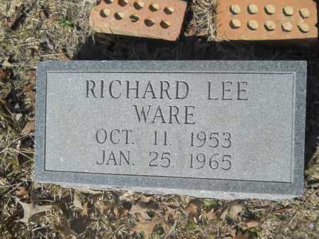 WARE, RICHARD LEE - Columbia County, Arkansas | RICHARD LEE WARE - Arkansas Gravestone Photos
