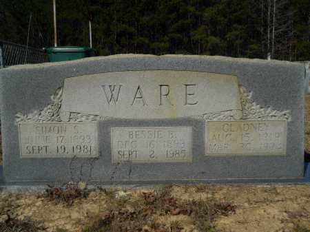 WARE, SIMON S - Columbia County, Arkansas | SIMON S WARE - Arkansas Gravestone Photos